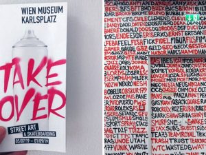 Výstava Takeover – Street Art & Skateboarding vo Viedni