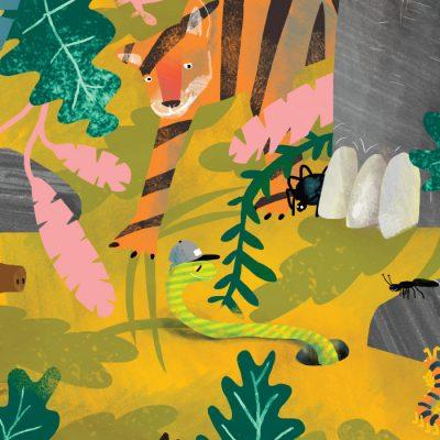 Zvieratká #2 - Grip. Had, ktorý chcel mať nohy / grafika