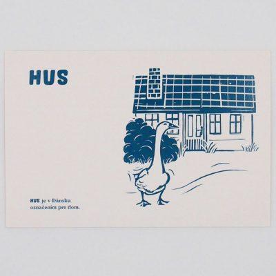 Hus - City v city / pohľadnica