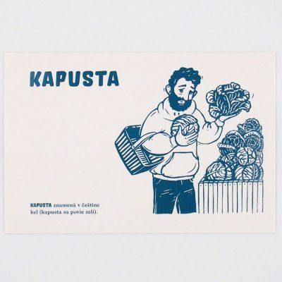 Kapusta - City v city / pohľadnica