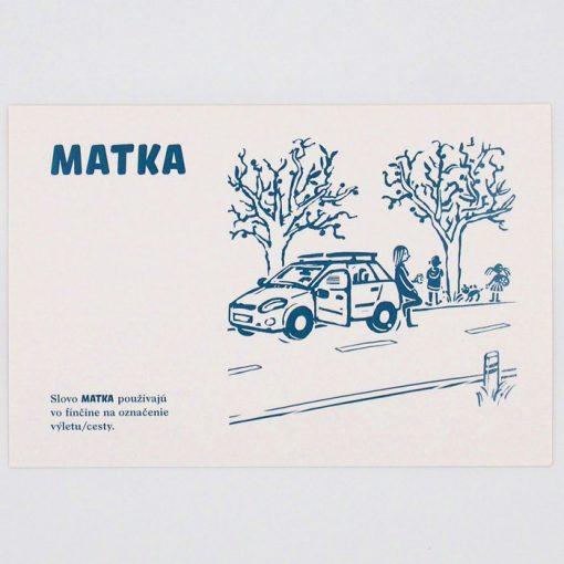 Matka - City v city / pohľadnica