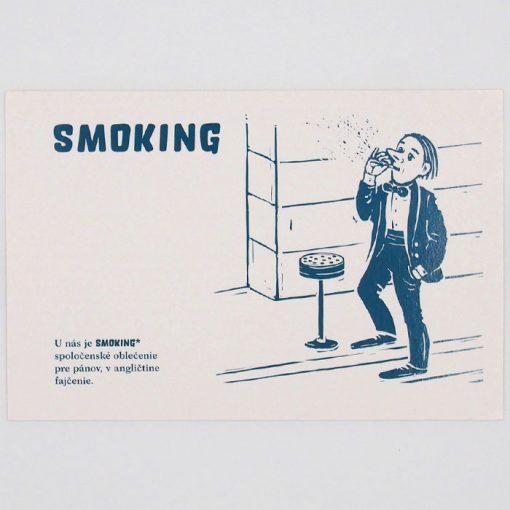 Smoking - City v city / pohľadnica