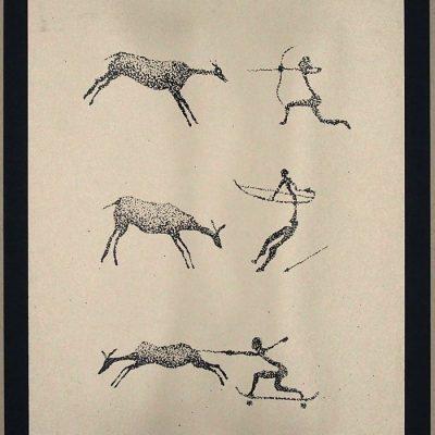 Caveman / grafika v ráme