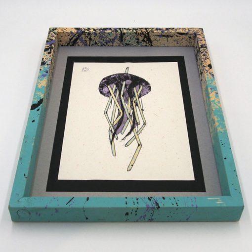 Medúza - Plody mora / grafika v ráme
