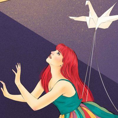 Alica - Tina Minor / grafika