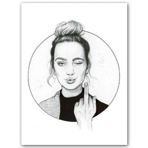 F*ck you very much - Tina Minor / grafika