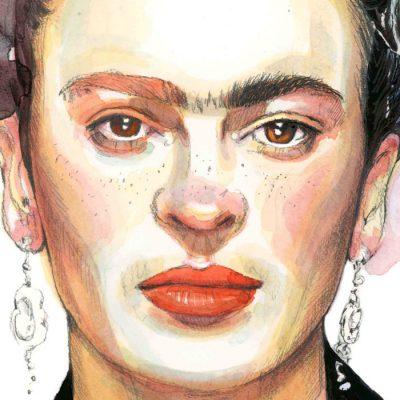 Frida - Tina Minor / grafika