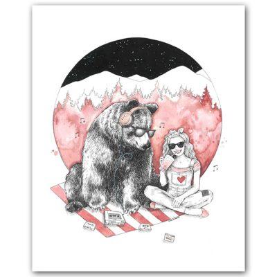 Piknik - Tina Minor / grafika
