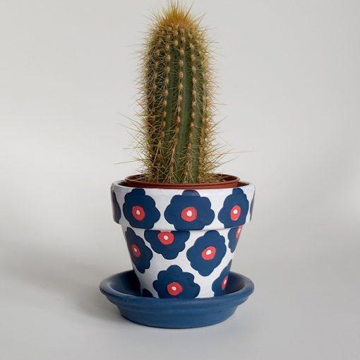 Cactus pot Daisy – Abstraktné stavy / malý kvetináč