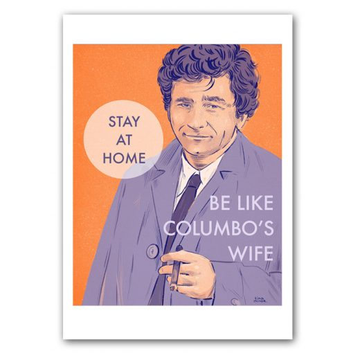 Columbo- Tina Minor / grafika