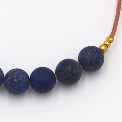 Lapis Lazuli - minerálny kameň / náramok