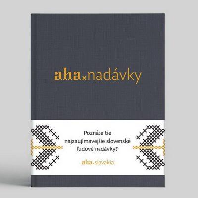 AHA Nádavky / kniha