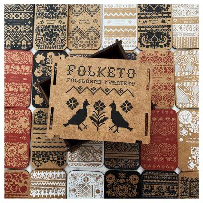 Mapucle Folketo / drevené kvarteto