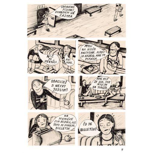 Bežná - Nežný komiks #2 / komix kniha