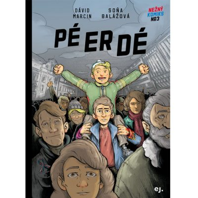 PÉ-ER-DÉ - Nežný komiks #3 / komix kniha