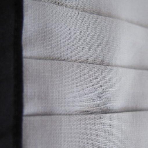 Svetlo sivé bavlnené rúško na tvára