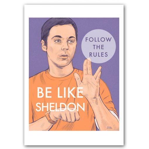 Sheldon - Tina Minor / grafika