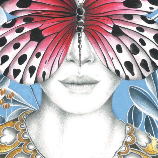 Scarlet - K. Branišová - Abstraktné stavy / grafika