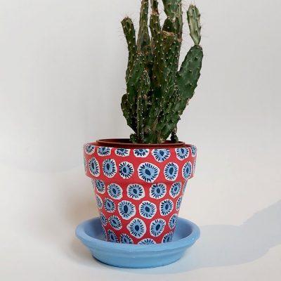 Cactus pot dot - Abstraktné stavy / malý kvetináč