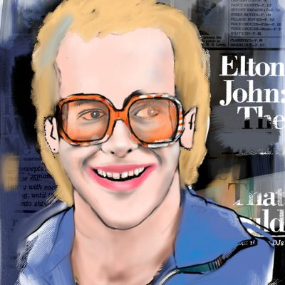 Elton John - Parxant- Abstraktné stavy / grafika
