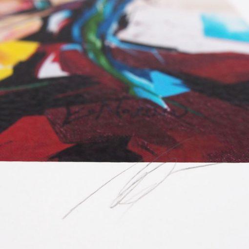 Kurt Cobain grafika / fine art print