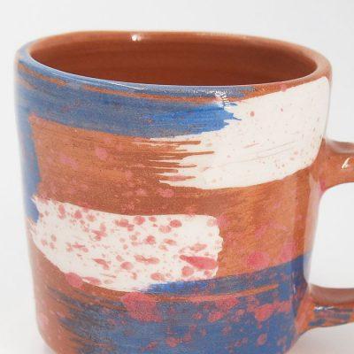 Hrnček frkaný #01 - Zen Zem / keramika