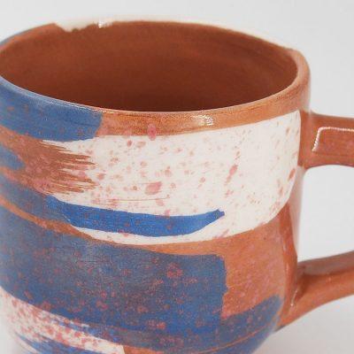 Hrnček frkaný #03 - Zen Zem / keramika