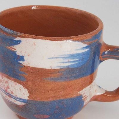Hrnček frkaný #04 - Zen Zem / keramika
