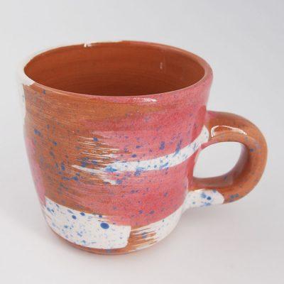 Hrnček frkaný #05 - Zen Zem / keramika