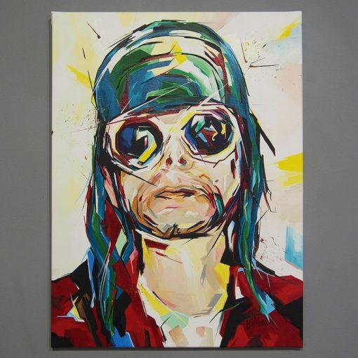 Kurt Cobain - Eva Novanská / maľba na plátne