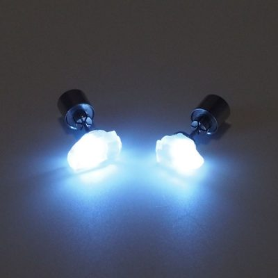 Mesačný kameň - Firefly / svetelné náušnice
