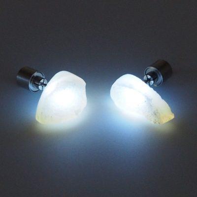 Zeolitové slzy Firefly / svetelné náušnice