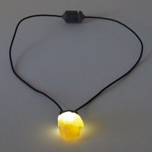 Medový kalcit - Firefly / svetelný prívesok