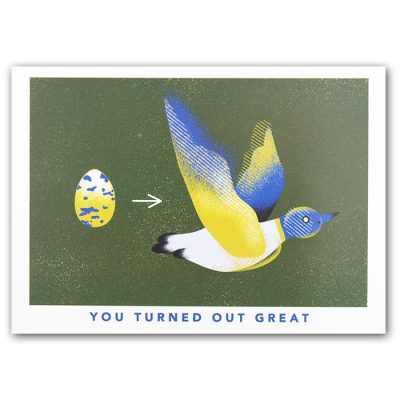 You turned out great, bird - Han / pohľadnica