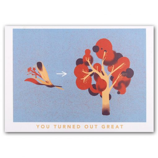 You turned out great, tree - Han / pohľadnica