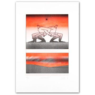 Blíženci - Lívia Suchá / risografika