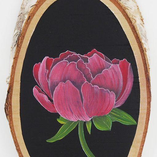Pivonka - Abstraktné stavy / maľba na dreve