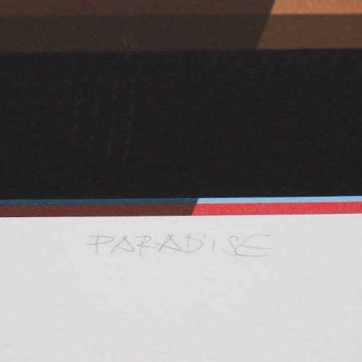 Paradise - Miloš Hronec, A2 / grafika
