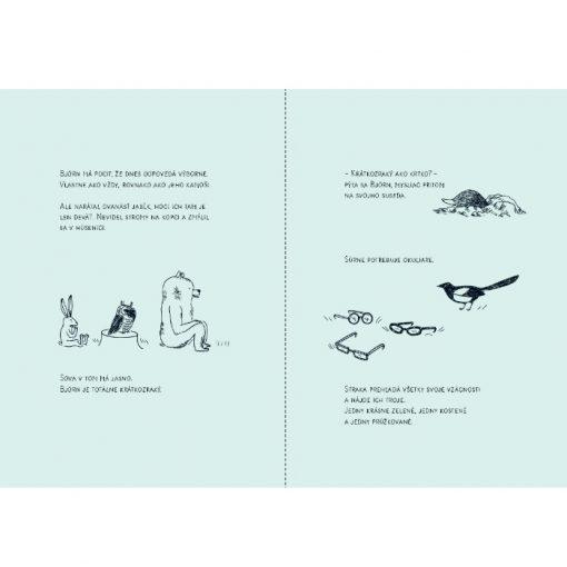 Björn - Šesť príbehov jedného medveďa - Delphine Perret / kniha