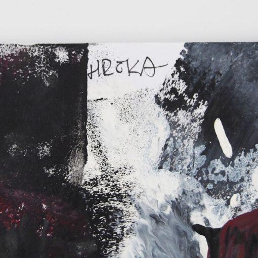 Le ROUGE et le NOIR - Ján Hrčka / maľba