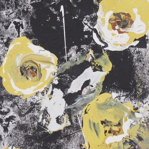 Růže z Texasu - Ján Hrčka / maľba