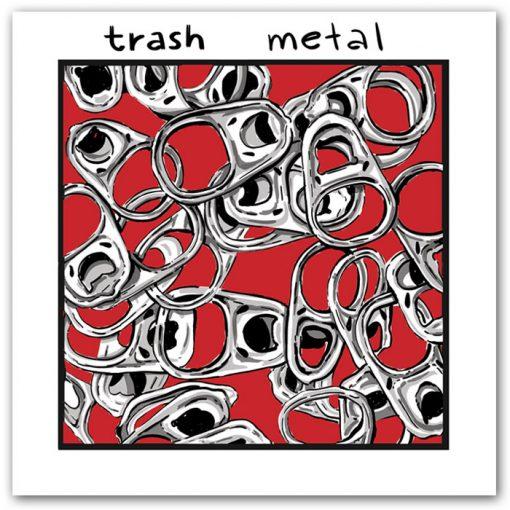 Trash metal - K. Koronthályová / grafika