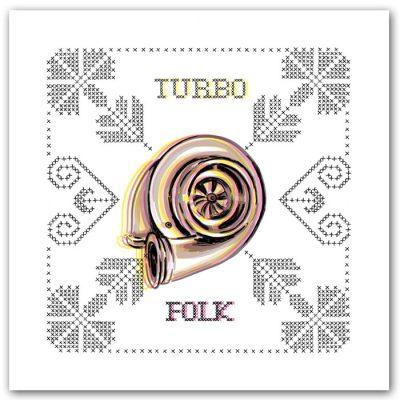 Turbo folk - K. Koronthályová / grafika
