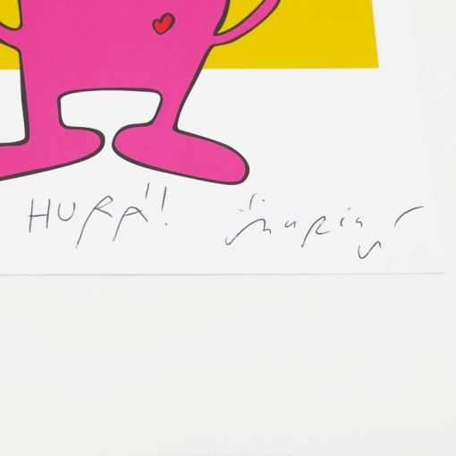 Hurá! yellow - Mária Slováková / grafika