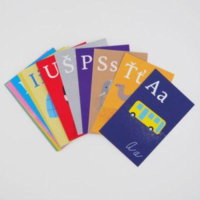 Abeceda nielen pre školákov - Poketo / kartičky