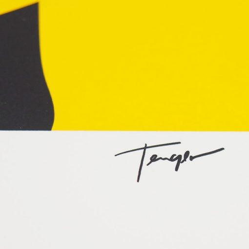 Equinox žltý - Tenger / sieťotlačová grafika