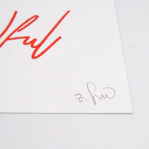 Be Kindful - Žužu Gálová / risografika
