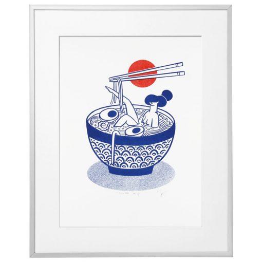 Noodle Soup - Žužu Gálová / risografika