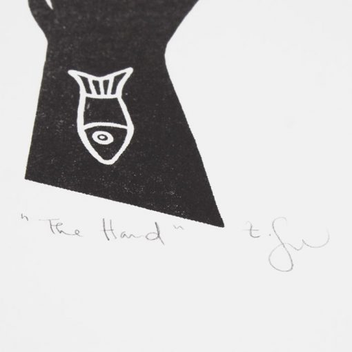 The Hand - Žužu Gálová / risografika