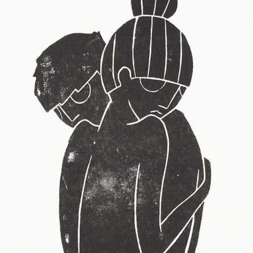 The Hug - Žužu Gálová / risografika